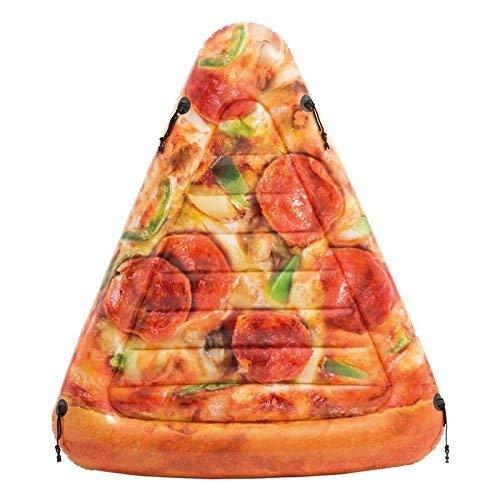 Lively Moments Luftmatratze / Lounge / Schwimmmatratze Pizza / Pizzastück / Badematratze ca. 175 x 145 cm