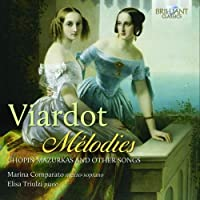 Melodies: Chopin Mazurkas and other Songs by Marina Comparato (2014-05-24)