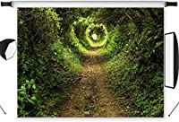 APAN7x5ftジャングルの写真の背景緑の植物の森の写真の背景メーカープロップビニールカスタマイズ