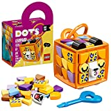LEGO DOTS BAG TAG - Leopardo, Kit Lavoretti Creativi per Bambini, Portachiavi Personalizzato, Set Componibile, 41929