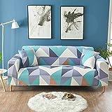 WXQY Funda de sofá de Spandex Bien Envuelta Funda de sofá con Todo Incluido Funda de protección de Muebles Funda de sofá elástica Moderna A21 2 plazas