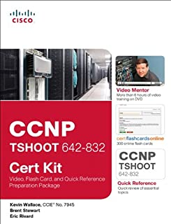 CCNP Tshoot 642-832 Cert Kit: Video, Flash Card, and Quick Reference Preparation Package (Cert Kits)