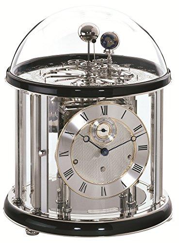 Hermle Hochwertige mechanische Tischuhr mit Schlüsselaufzug Tellurium II- 22823-740352