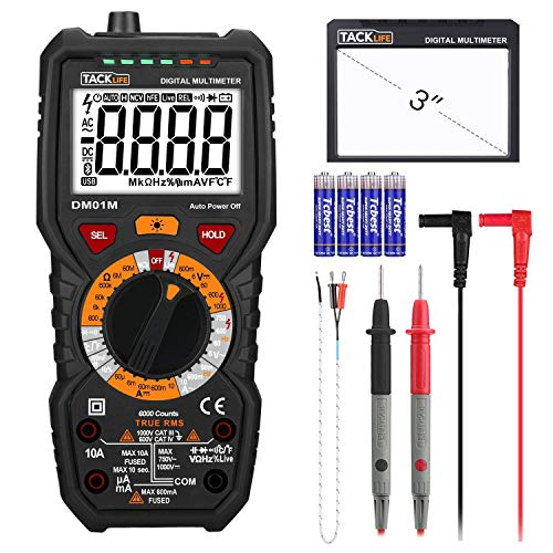 TACKLIFE DM01M Multimeter