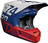 FOX V-3 Helmet, Hombre, Draftr Blue, S