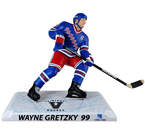 NHL Figures 15,2 cm Wayne Gretzky 15,2 cm NHL Player Replica-Alumni Edition-New York Rangers, Multicolor, One Size
