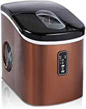 Machine à glaçons Ice Maker machine comptoir d'accueil, comptoir Ice Cube Maker Amovible Panier & Ice Scoop - glace en 10 ...