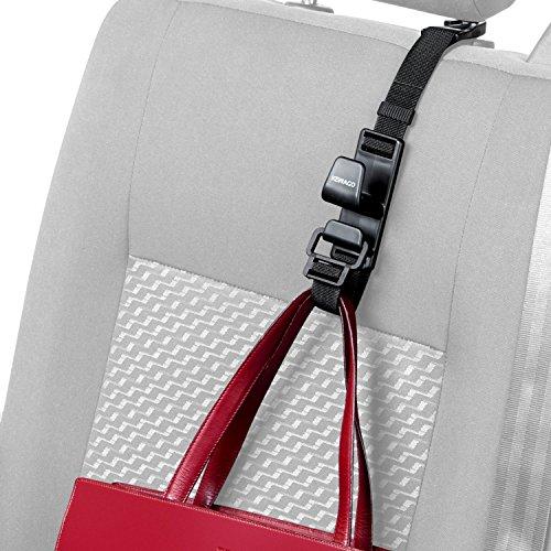 KEWAGO Auto-Handtaschenhalter. Handtaschen und Taschenhaken für die Autositz Kopfstütze. Kleiner Aufhänger – großer Innenausstattung Nutzen. Praktischer Halter auch für die Einkauftasche - universell