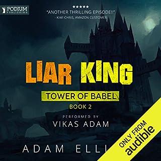 Liar King audiobook cover art
