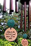 Memorial Wind Chime Sympathy Gift After Loss PRIME Rush Shipping for Funeral Loss in Memory of Loved One Copper Listen to the Wind Memorial Garden Remembering a loved one