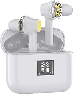 Wireless Earbuds, Eirix Bluetooth 5.0 Wireless Headphones with 800mAh Charging Case in-Ear Headset Noise Canceling IPX4 Wa...