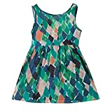 Fasouem Baby Girls Tank Dress Summer Beachwear Sundress Sunsuit Clothes for Little Girl Green
