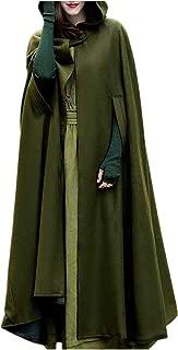 Leyben Women's Tops, Women Solid Mysterious Trench Coat Open Front Cardigan Jacket Coat Cape Cloak Poncho Plus
