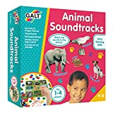 Galt Toys, Animal Soundtracks, Listening Guessing Game, Ages 4 Years Plus, 1-4 Players
