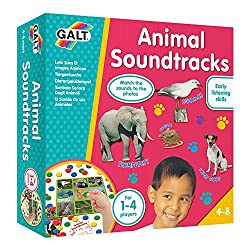Galt Toys Inc Animal Soundtracks CD