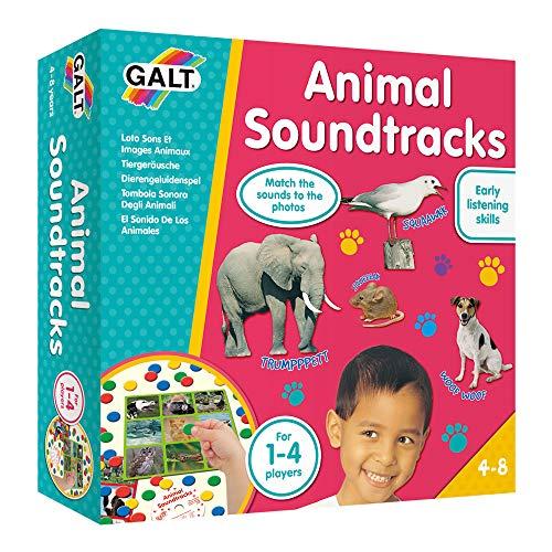 Kuenen LL10171- Soundtrack-Spiel mit CD, Tiergeräusche