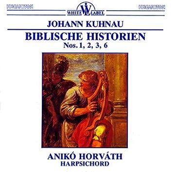 Kuhnau: Biblischer Historien Nos. 1, 2, 3, 6