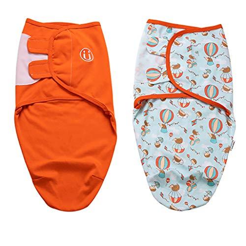 Manta Envolventes para Bebé y Recien Nacido Saco de Dormir 2 Paquetes 3-4 Meses