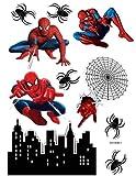 Decoración para tartas con diseño de Spider-man Icing