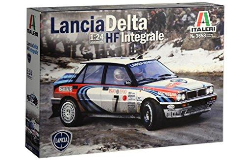 ITALERI 3658S – 1:24 Lancia HF Integral, maqueta, maqueta, maqueta, construcción de Modelos, Manualidades, aficiones, Pegado, Kit de construcción de plástico, detallado