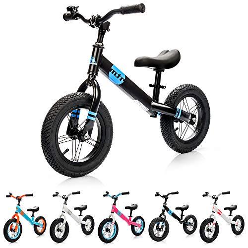 Bicicleta sin pedales negra