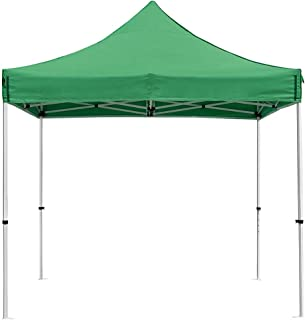 Instahibit 10x10 ft Pop Up Canopy Tent Commercial Outdoor Trade Fair Canopy Shade Party Tent with 1680D Roller Bag