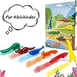 ONCCI 6 Farbstifte Wachsmalstifte Handflächengriff Wachsmalstifte Waschbar Stifte für Kleinkinder