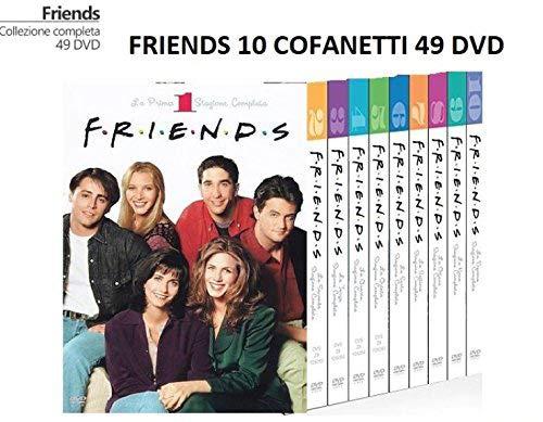Friends 1 - 10 Serie completa (10 cofanetti)