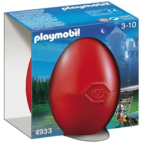 Playmobil 4933 - Uovo con Sopresa, Rosso