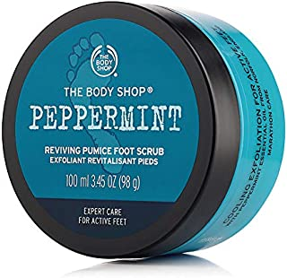 The Body Shop Peppermint Reviving Pumice Foot Scrub, 100 ml