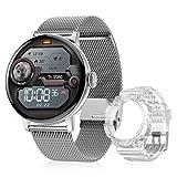 DTNO.I Relojes Inteligentes Hombre con llamadas 1.3'' HD Pantalla de Círculo Completo Reloj...