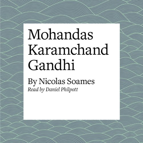 Mohandas Karamchand Gandhi audiobook cover art
