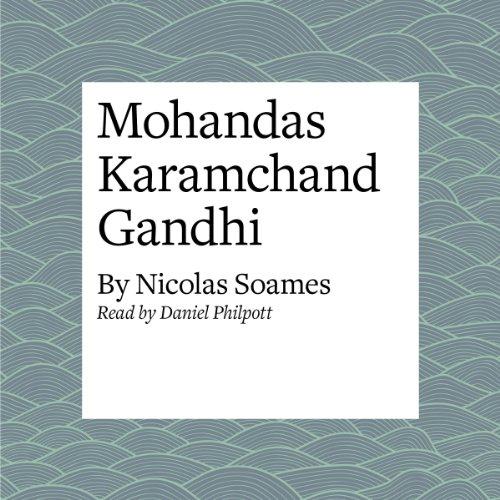 Mohandas Karamchand Gandhi copertina