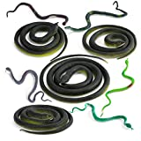 Wirrabilla 9 in 1 Rubber Snakes Looks Supper Real, Realistic Snakes Pretty Good...