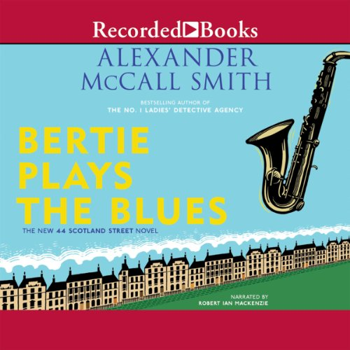 Bertie Plays the Blues audiobook cover art