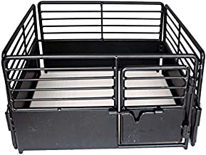 Little Buster Toys Brown Priefert Horse Stall - Perfect for stalling Your Favorite Quarter Horse