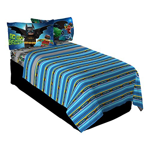 LEGO Batman Way Brozay Twin Sheet Set