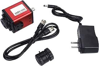 Naroote 100-240V 1200 TVL C-Mount Industry Camera HD AV TV Microscope Video Recorder CCD