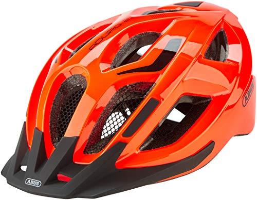ABUS Aduro 2.1 - Allround-Fahrradhelm in sportivem Design für den Stadtverkehr, Landstraßen und Trails - für Damen und Herren - 82669 - Orange, Größe S