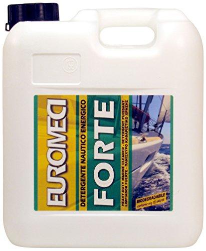 EUROMECI Forte, Detergente sgrassante Nautico energico, 5000 ml