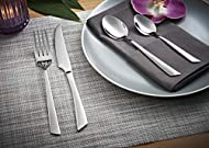 Viners Flair 24 Piece 18.0 Stainless Steel Cutlery Set for Serves 6 People, 25 Year Guarantee