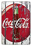 Boggevi Kells Coca Cola Blechschild, Wanddekoration aus Metall im Vintage-/Retro-Stil, Geschenkidee – Cartel de metal de 200 mm x 300 mm – TPH0108