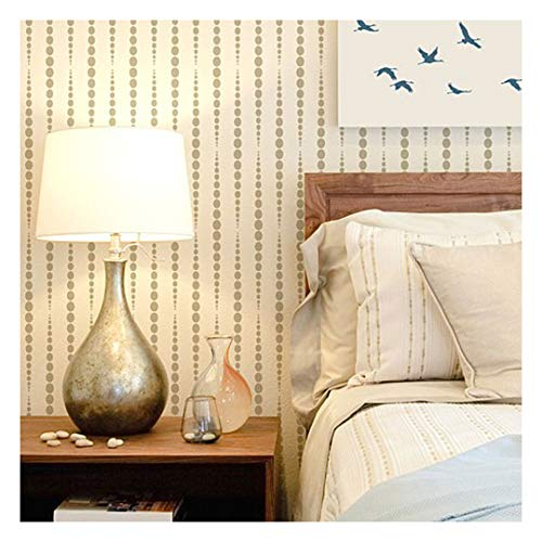 Beads Allover Stencil – Large Stencils for Painting Walls – Try Stencils Instead of Wallpaper – Modern Stencils for Wall Painting – Stencil Designs for DIY Home Décor – Best Stencils