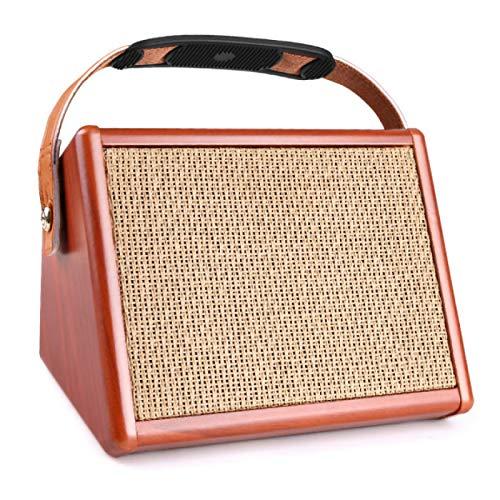 HJCE Amplificador Amplificador De Guitarra Acústica Ac-15 De 15 W, Altavoz BT...