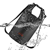 OUTXE IP67 Kayak Dry Bag Waterproof Backpack TPU Dry Bag Sack 10L Totally Sealed PVC-Free