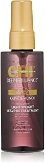 CHI CHI Deep Brilliance Leave-In Shine Serum for Unisex 3 oz Serum, 89 ml