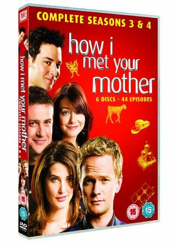 How I Met Your Mother - Season 3 & 4 [UK Import]