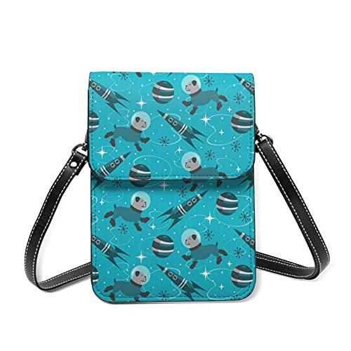 best& Bulldogs Of The Future Crossbody Bag Phone Bags Purse,Sports pulsera Outdoor Sweat-Proof Small Compact Handbags Crossbody Passport Phone Holder Bags Shoulder Bag for Women Girls Lady
