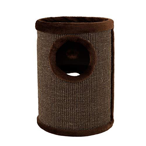 Dibea KT00920 Tonelada Torre Rascador para Gatos, Sisal, 50 cm, Altura, Marrón