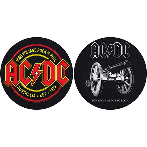 AC/DC - For Those About To Rock/High Voltage (Tappeto per Giradischi) Ufficiale